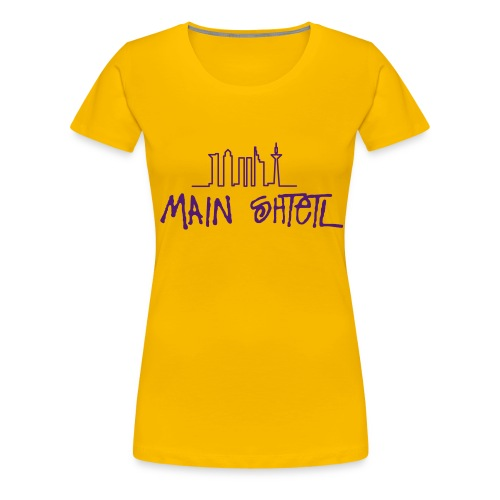 mainshtetl - Frauen Premium T-Shirt