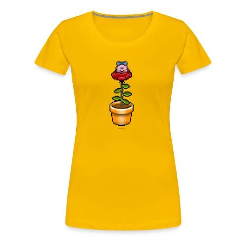 Rosentopf - Frauen Premium T-Shirt