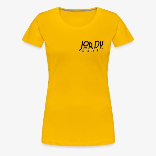 JordySanti Merch - Vrouwen Premium T-shirt