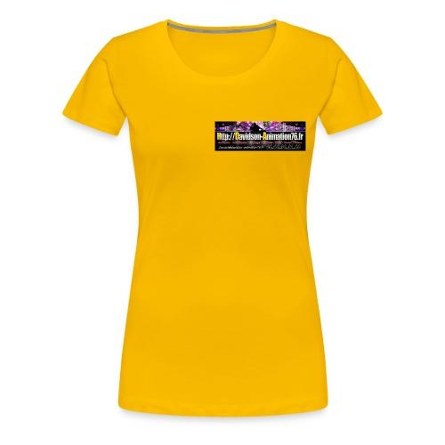 Logo Davidson 2015 jpg - T-shirt Premium Femme
