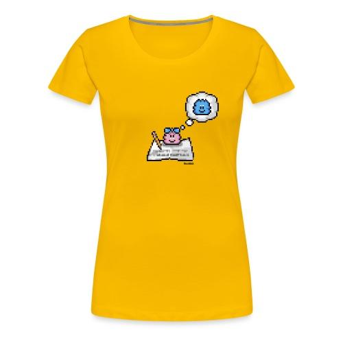 Loveletter - Girl - Frauen Premium T-Shirt