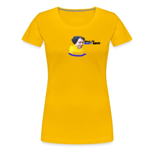 Hello I'm Bart Duck - Women's Premium T-Shirt