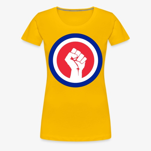 Premier logo de la LAE en grand - T-shirt Premium Femme