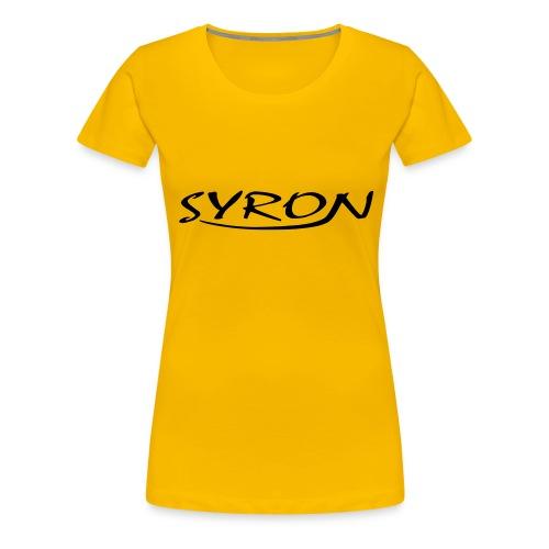 Syron - Frauen Premium T-Shirt