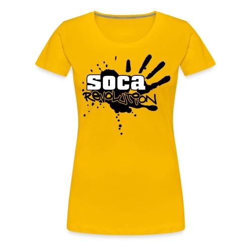 soca rev logo true - Women's Premium T-Shirt