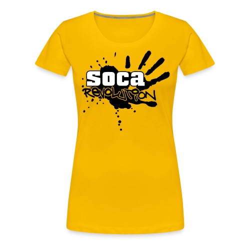 soca rev logo true - Women's Premium T-Shirt