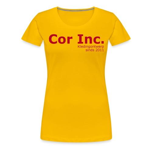 CorInc - Vrouwen Premium T-shirt