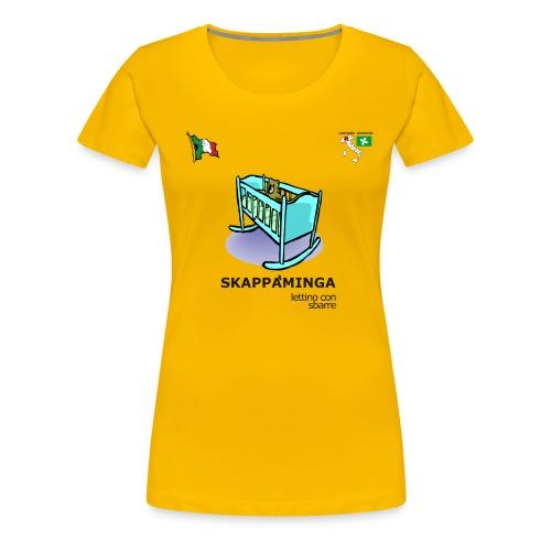 skappaminga - Maglietta Premium da donna