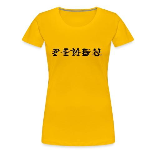 fimbu systematique ya jeaune... - T-shirt Premium Femme