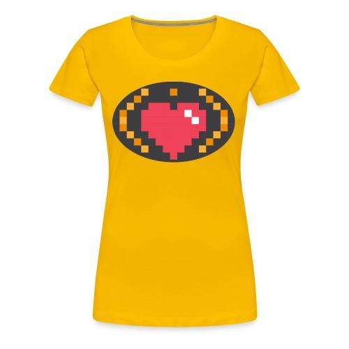 Digital_Heart_Isle - Women's Premium T-Shirt