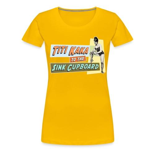 titikaka shirt1 trans rand - Vrouwen Premium T-shirt