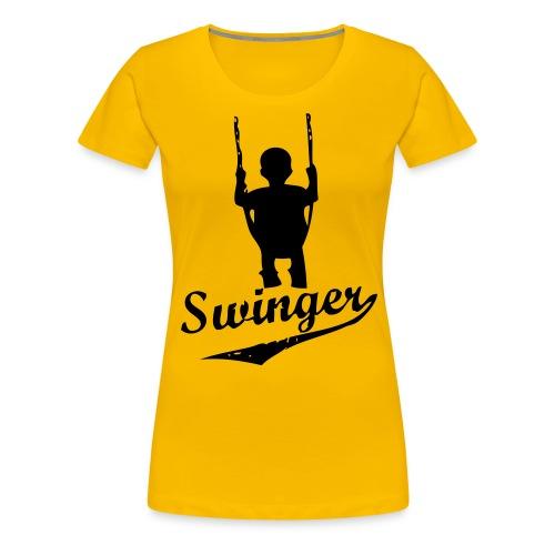 swinger - Premium-T-shirt dam