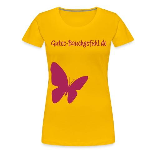 schmetterling lila gross - Frauen Premium T-Shirt