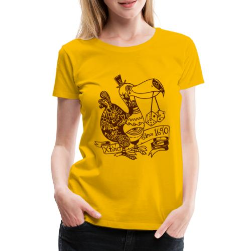 Dronte - Frauen Premium T-Shirt