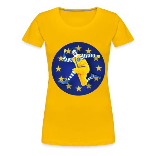 mc Do EURO - T-shirt Premium Femme