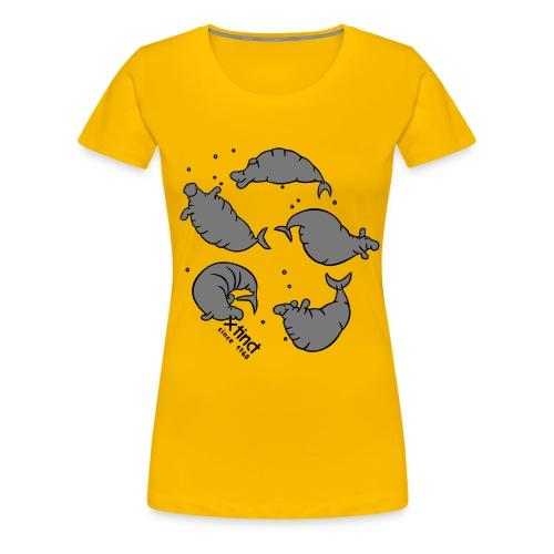 Seekuhtanz - Frauen Premium T-Shirt