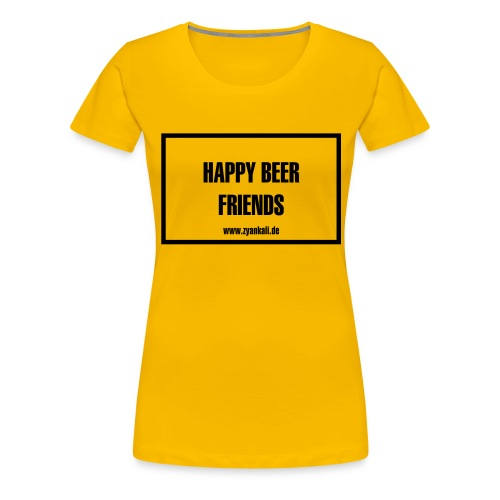Happy beer friends - Frauen Premium T-Shirt