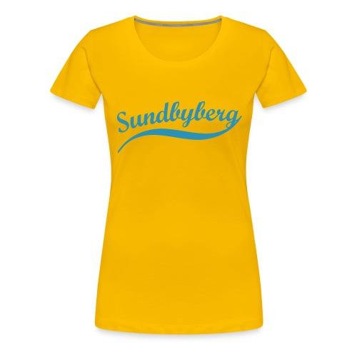 sundby retro - Premium-T-shirt dam