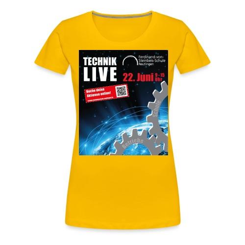 TECHNIK LIVE 2018 - Frauen Premium T-Shirt