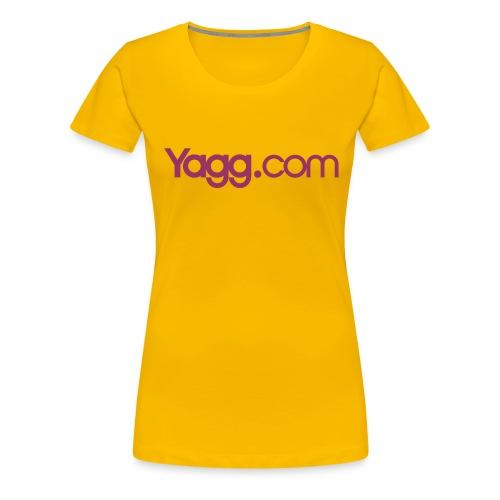 yaggdotcomlogocmyk - T-shirt Premium Femme
