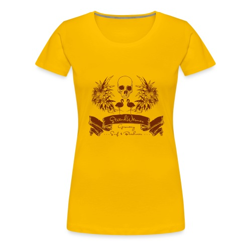 StrandWärmer Pirat - Frauen Premium T-Shirt