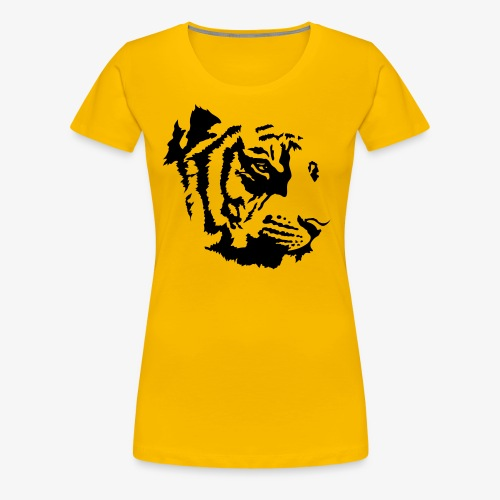 Tiger head - T-shirt Premium Femme