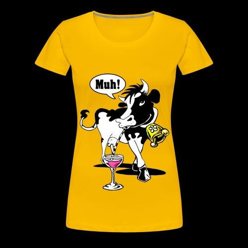 Muh Kuh - Frauen Premium T-Shirt