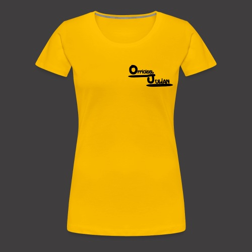 Officieel Julian - Vrouwen Premium T-shirt