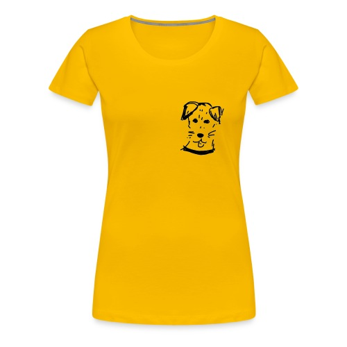 piesek a jpg - Koszulka damska Premium
