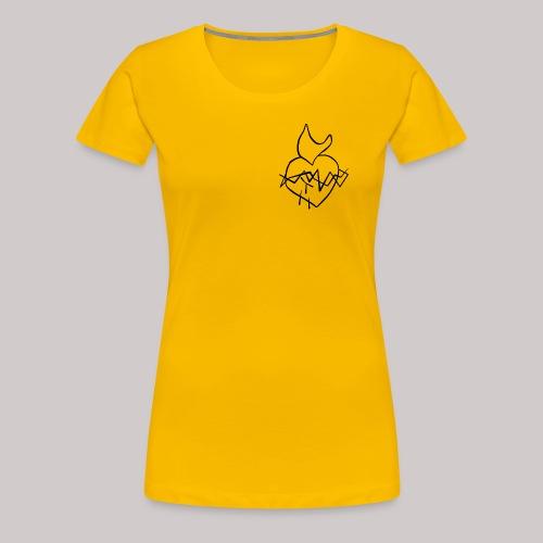 Sagrado Corazón de Jesús - Camiseta premium mujer