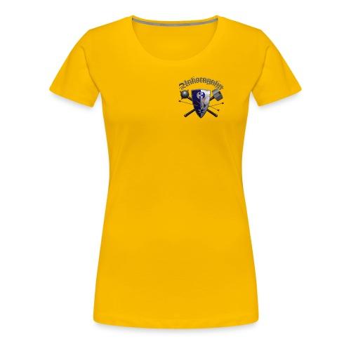 Ankoragahnwappen mit Schriftzug - Frauen Premium T-Shirt