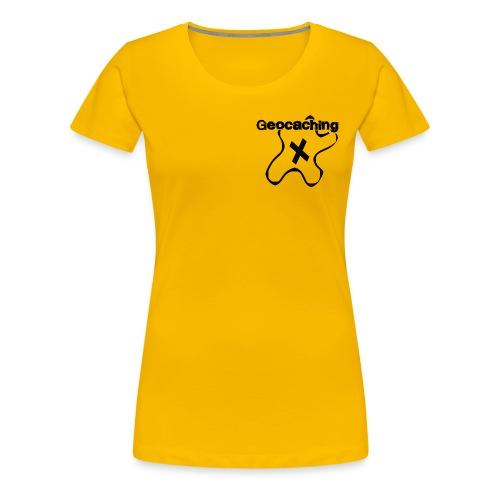 Geocaching - Design f. die digitale Schnitzeljagd - Frauen Premium T-Shirt