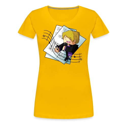 Sing with me - Women's Premium T-Shirt