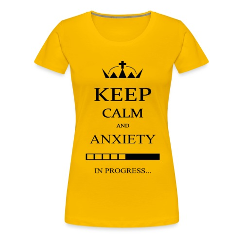 keep_calm - Maglietta Premium da donna