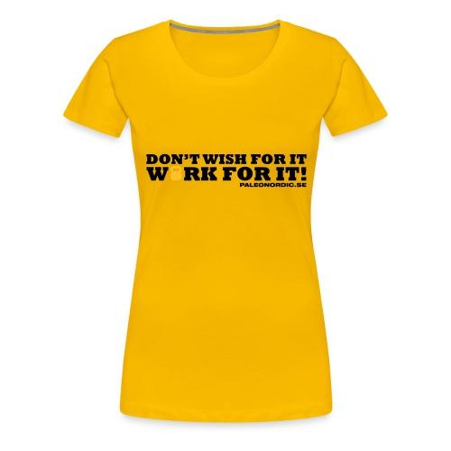 workforitsmal - Premium-T-shirt dam