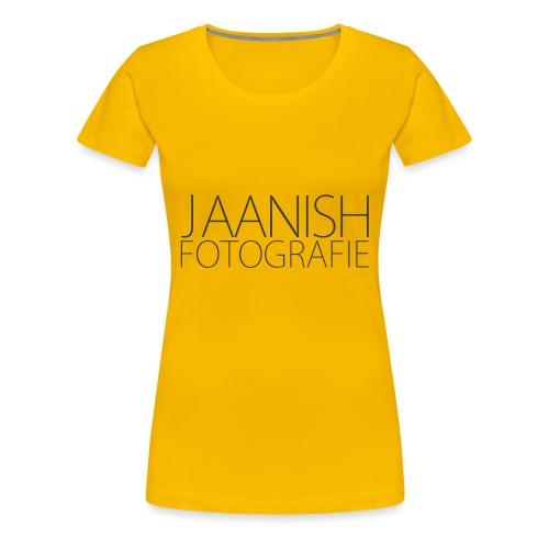 LOGO JAANISH PNG - Vrouwen Premium T-shirt
