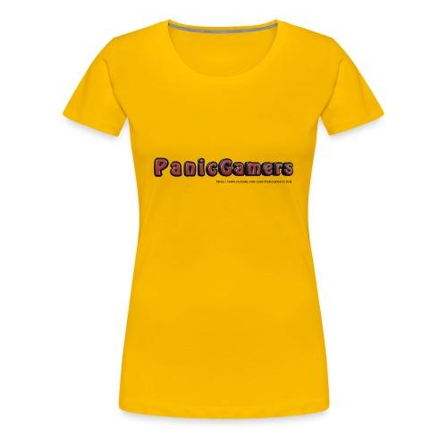 Cover PanicGamers - Maglietta Premium da donna