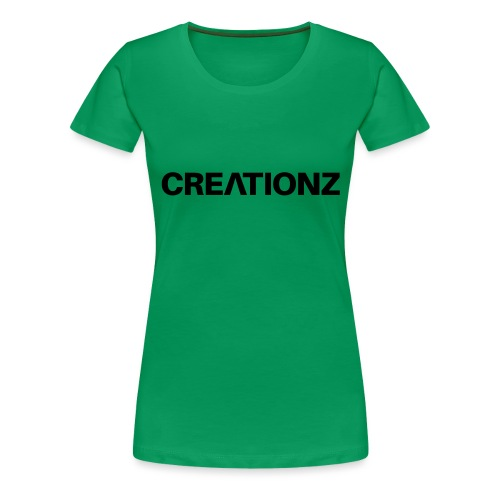 WOORDMERK PUNT NL ZWART - Vrouwen Premium T-shirt