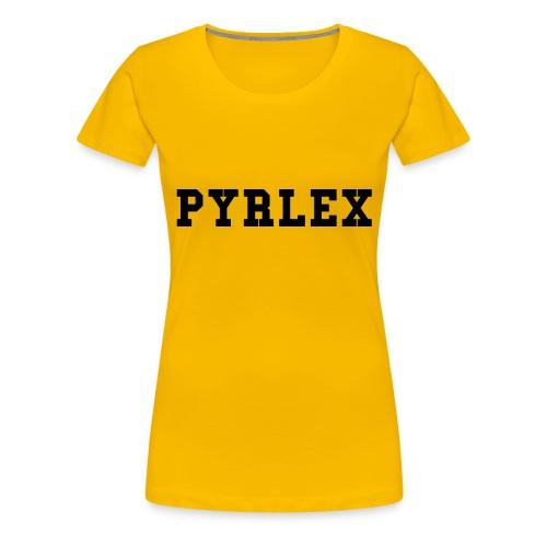 T-Shirt PYRLEX - Maglietta Premium da donna