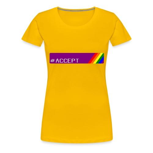 79 accept - Frauen Premium T-Shirt