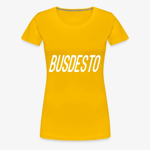 Busdesto plain shirt apparel - Women's Premium T-Shirt