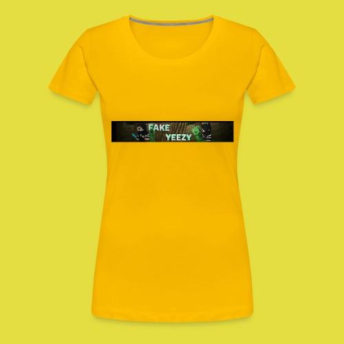 FakeYeezy Merch Kollektion 1.0 - Frauen Premium T-Shirt