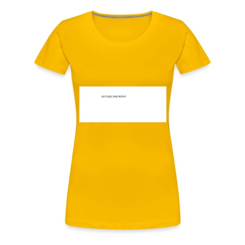 eat sleep sing - Women's Premium T-Shirt