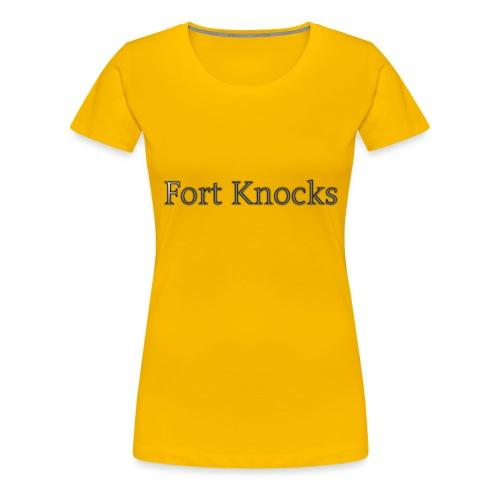 Fort Knocks Logo - Women's Premium T-Shirt