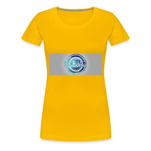 LOGO WITH BACKGROUND - Women's Premium T-Shirt