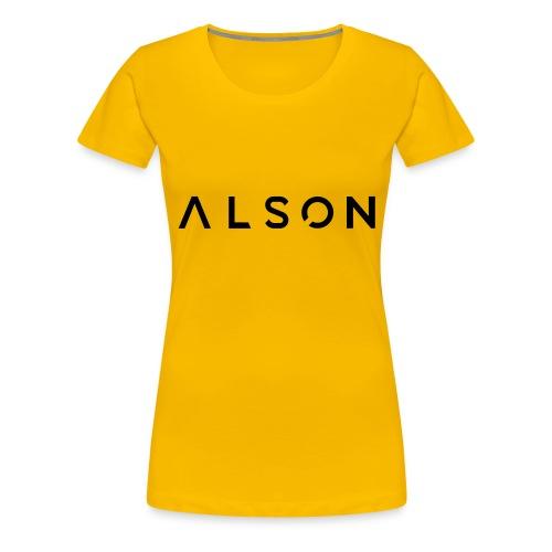 alson logo - Vrouwen Premium T-shirt