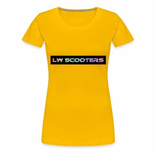 Lw Scooters hoodie - Women's Premium T-Shirt