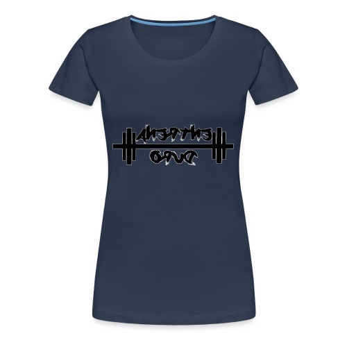 Para el Espejo: GYM - ENTRENA DURO - Camiseta premium mujer