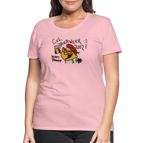 Bierweek 2002 - Vrouwen Premium T-shirt