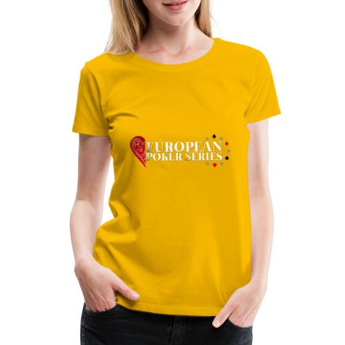European Poker Series - T-shirt Premium Femme